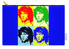 The Doors And Jimmy Carry-all Pouch by Robert Margetts