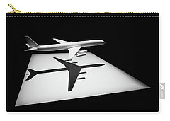 Carry-all Pouch featuring the digital art The Douglas Dc-8 by Steve Taylor