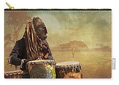 The Dream Of His Drums Carry-all Pouch