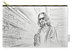 The Dude Abides Carry-all Pouch