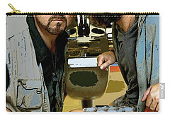 The Dude Abides Mixed Media Carry-All Pouches