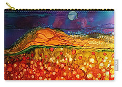 The Dunes At Night Carry-all Pouch
