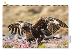 The Eagle Have Come Down Carry-all Pouch by Torbjorn Swenelius