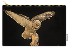 The Eagle-owl Has Landed Carry-all Pouch