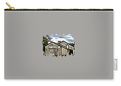 Carry-all Pouch featuring the photograph The Eagle Theater And Skalet Family Jewelers Old Sacramento by Thom Zehrfeld