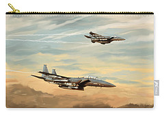 The Eagles Descend Carry-all Pouch
