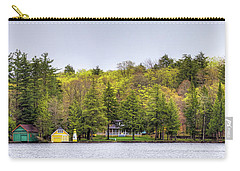 The Early Greens Of Spring Carry-all Pouch by David Patterson
