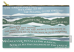The Earth Does Not Belong To Us Carry-all Pouch