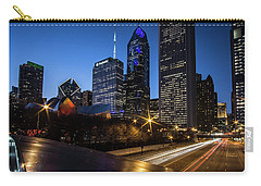 The East Side Skyline Of Chicago  Carry-all Pouch