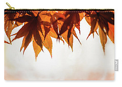 Carry-all Pouch featuring the photograph The Eaves Of Season by Gene Garnace