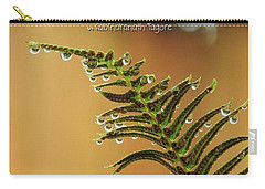 Carry-all Pouch featuring the photograph The Edges Of Time by Peggy Hughes