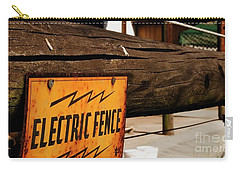 The Electric Fence Carry-all Pouch by Bob Pardue