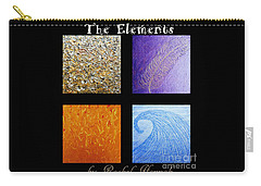 The Elements Carry-all Pouch by Rachel Hannah