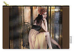The Elevator Girl Carry-all Pouch