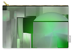 The Emerald City Carry-all Pouch by John Krakora