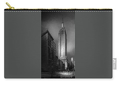 Carry-all Pouch featuring the photograph The Empire State Ch by Marvin Spates