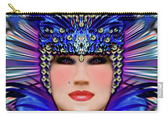 Carry-all Pouch featuring the photograph The Empress Barbaka #192 by Barbara Tristan