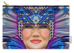 The Empress Carry-all Pouch by Barbara Tristan