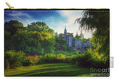 The Enchanted Land - Central Park In Summer Carry-all Pouch by Miriam Danar