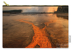 The Enchantment Of Grand Prismatic Spring Carry-all Pouch