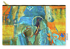 Carry-all Pouch featuring the painting The End Game by Everette McMahan jr