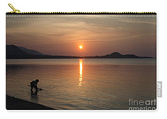 The End Of A Hot Day Carry-all Pouch by Michelle Meenawong