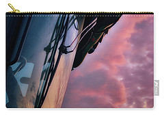 Carry-all Pouch featuring the photograph The End Of A Long Day by Mark Dodd