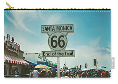 The End Of Sixty-six Carry-all Pouch by Laurie Search