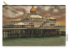 Carry-all Pouch featuring the photograph The End Of The Pier Show by Leigh Kemp