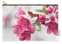 Carry-all Pouch featuring the photograph The End Of Winter by Ana V Ramirez