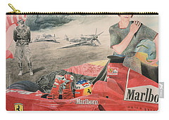 The Enigma Of Erich Hartmann Carry-all Pouch