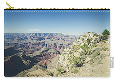 Carry-all Pouch featuring the photograph The Enormity Of It All by Margaret Pitcher