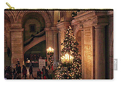 Carry-all Pouch featuring the photograph A Golden Entrance by Jessica Jenney