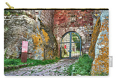 The Entrance To The Monastery Of Escornalbou Carry-all Pouch