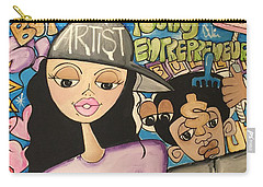 The  Entrepreneurs Mural Carry-all Pouch