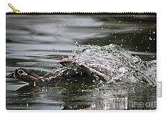 Carry-all Pouch featuring the photograph The Escape by Douglas Stucky