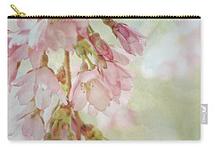 Carry-all Pouch featuring the photograph The Essence Of Springtime  by Connie Handscomb