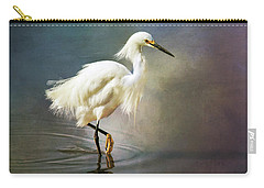 The Ethereal Egret Carry-all Pouch