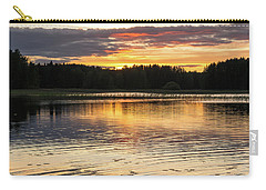The Evening Came Softly With The Sunset Carry-all Pouch