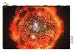 The Eye Of Cyma - Fire And Ice - Frame 146 Carry-all Pouch
