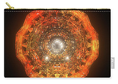 The Eye Of Cyma - Fire And Ice - Frame 160 Carry-all Pouch