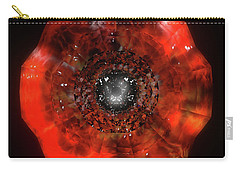 The Eye Of Cyma - Fire And Ice - Frame 40 Carry-all Pouch