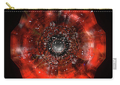 The Eye Of Cyma - Fire And Ice - Frame 45 Carry-all Pouch
