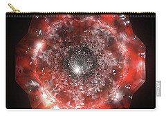 The Eye Of Cyma - Fire And Ice - Frame 50 Carry-all Pouch
