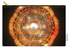 The Eye Of Cyma - Fire And Ice - Frame 7 Carry-all Pouch