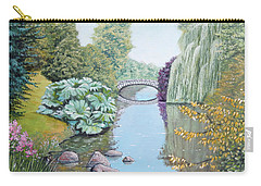 The Eye Of The Garden Carry-all Pouch