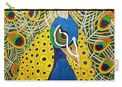 The Eye Of The Peacock Carry-all Pouch