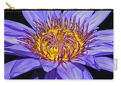 The Eye Of The Water Lily Carry-all Pouch by Emmy Marie Vickers