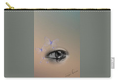 The Eyes Don't Lie Carry-all Pouch by Vennie Kocsis