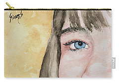 The Eyes Have It - Bryanna Carry-all Pouch by Sam Sidders